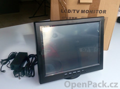 ComPos factory 12-ti palcový LCD Touch-Screen Monitor vhodný pro EET.