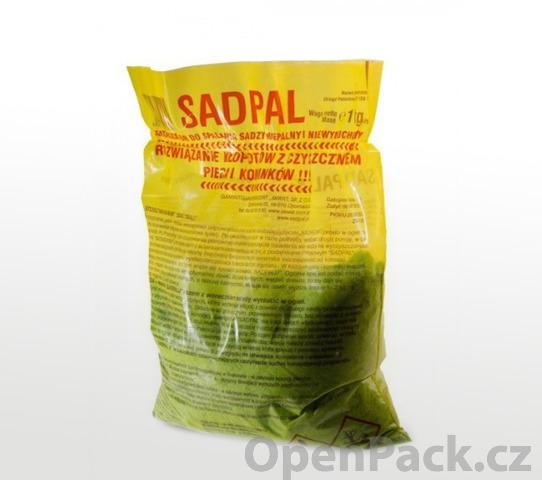 SADPAL - přípravek pro čištění komínu a všech částí kotle, 1kg